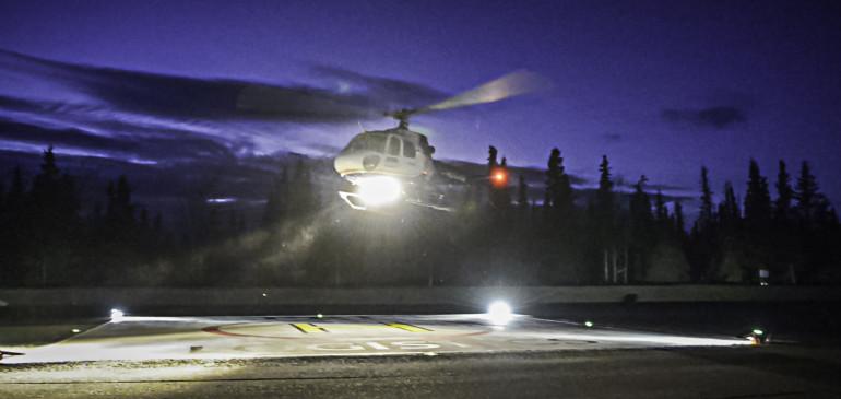 Kenai Landing logistics company unveils heliport